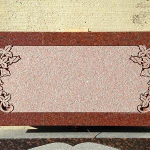 Flush marker 4 India Red floral design