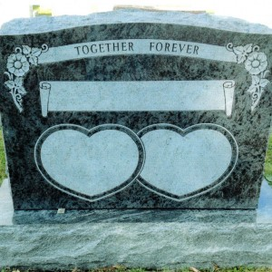 Double Upright Bahama Blue Double Heart #92